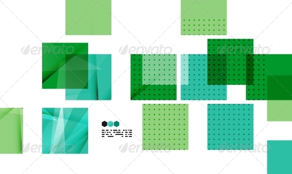 GraphicRiver Bright Geometric Modern Design 8019109