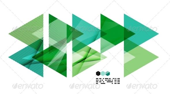 GraphicRiver Bright Geometric Modern Design 8019125