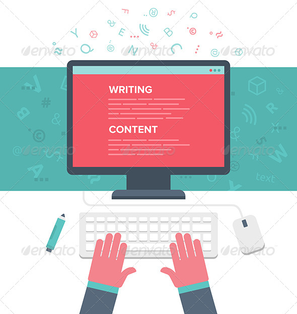 GraphicRiver Writing an Article 8019186