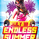 Endless Summer Party - GraphicRiver Item for Sale