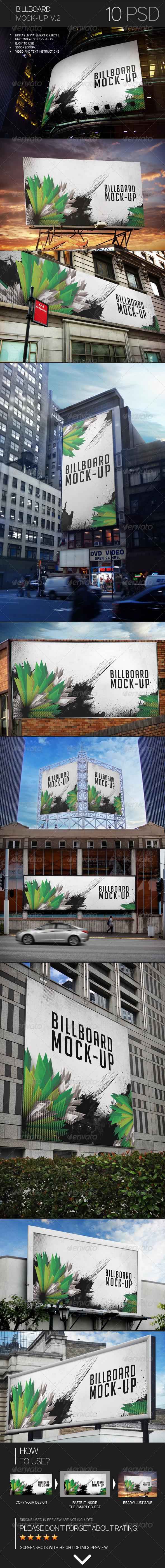 Billboard Mock-Up Vol.2 - Miscellaneous Print