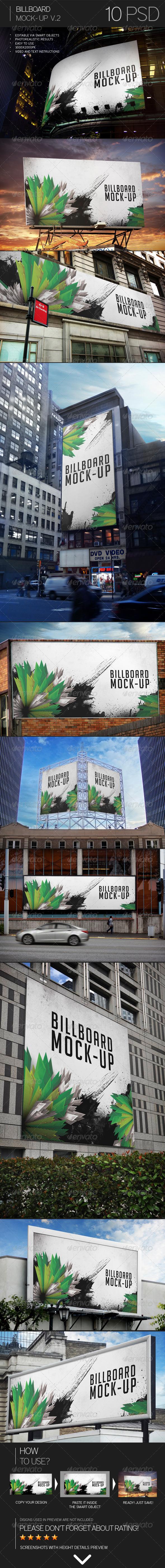 GraphicRiver Billboard Mock-Up Vol.2 8020154