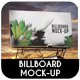 Billboard Mock-Up Vol.2 - GraphicRiver Item for Sale