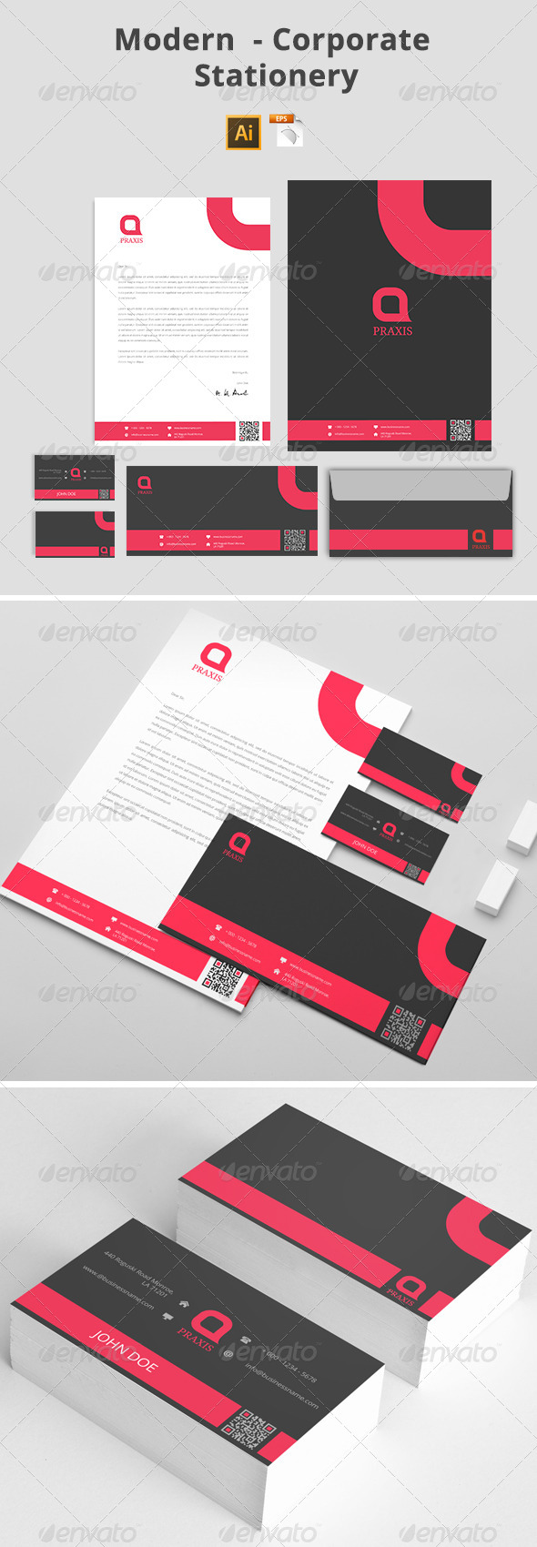 GraphicRiver Modern Corporate Stationery 8020176