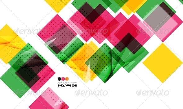 GraphicRiver Colorful Geometric Modern Design 8020405