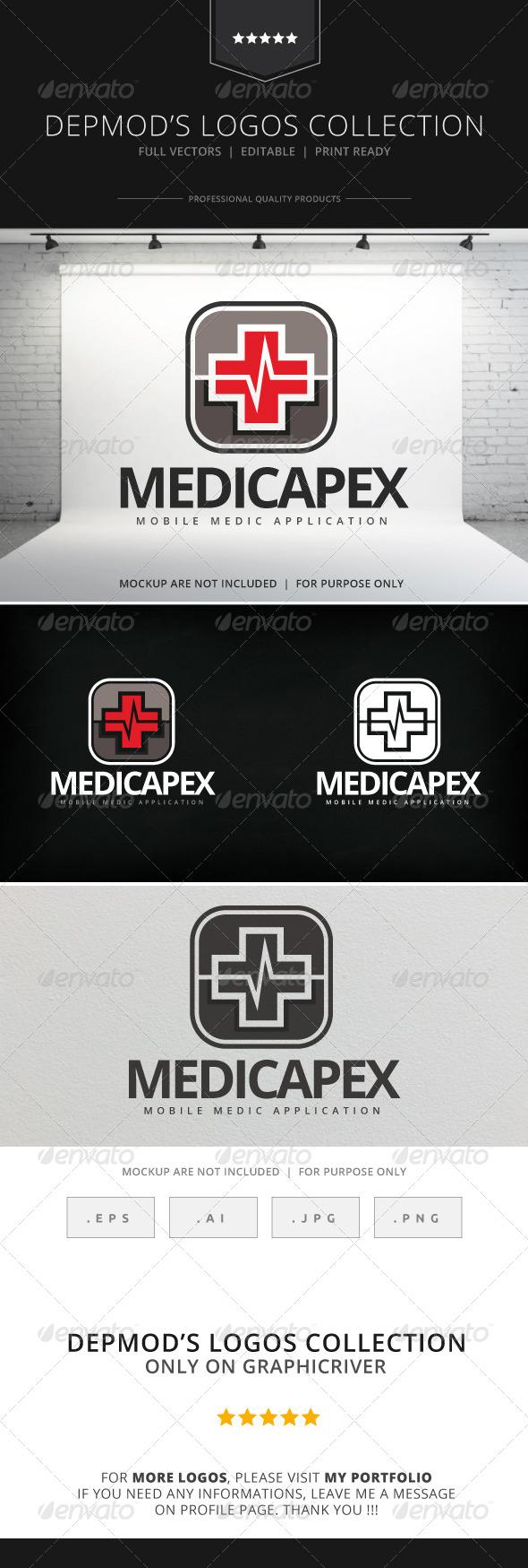 GraphicRiver Medicapex Logo 8020420
