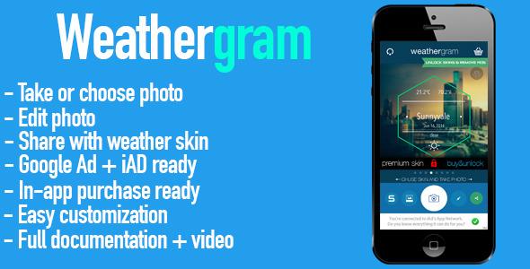 CodeCanyon Weathergram 8020424