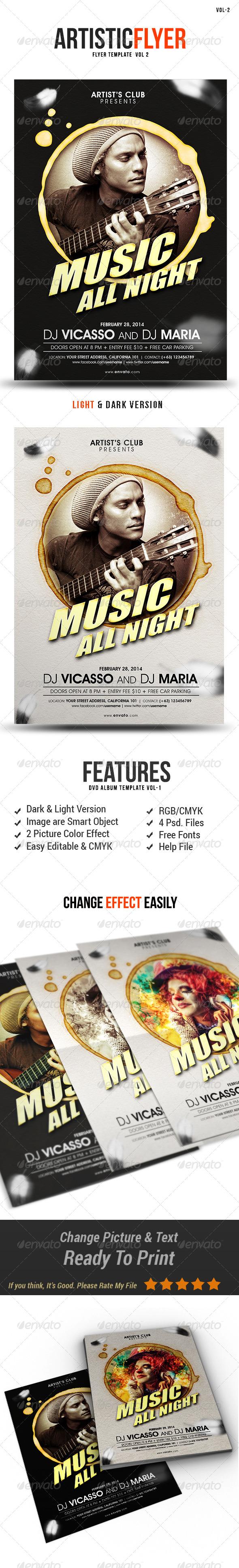 GraphicRiver Artistic Flyer Vol-2 8020440