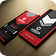 Red Business Card - GraphicRiver Item for Sale