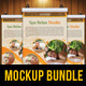 14 Flyer Mockup Templates Bundle - GraphicRiver Item for Sale