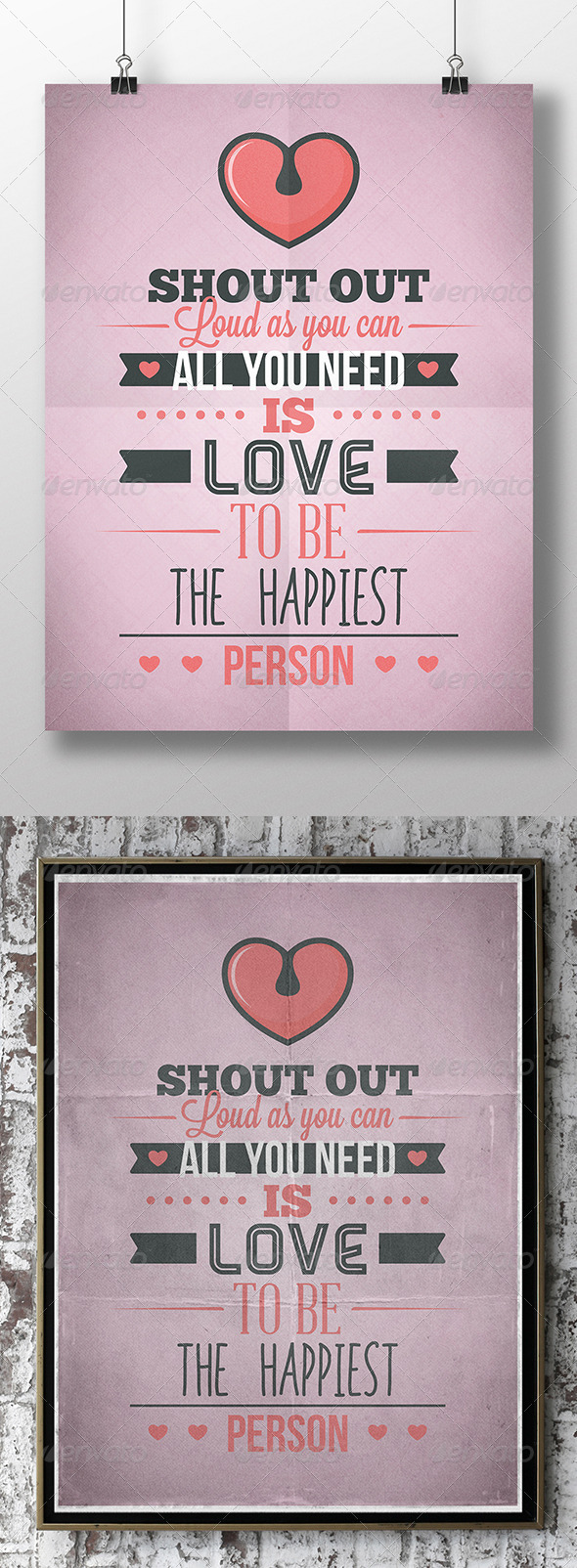 GraphicRiver Love Flyer 8021501