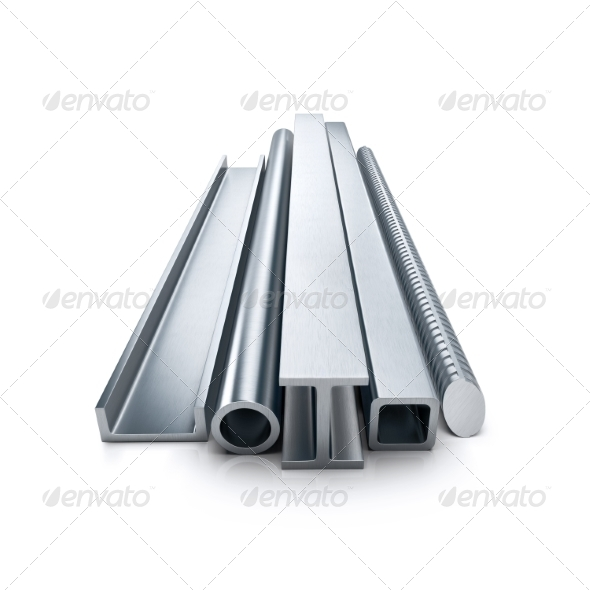 GraphicRiver Rolled Metal Products 8021576