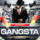 Gangsta Party Poster - GraphicRiver Item for Sale