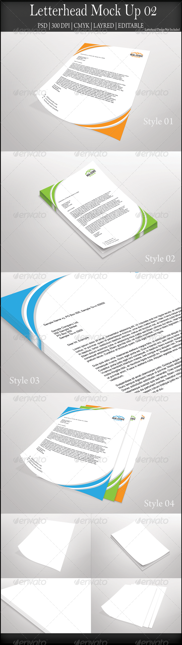 GraphicRiver Letterhead Mock Up 02 8021745