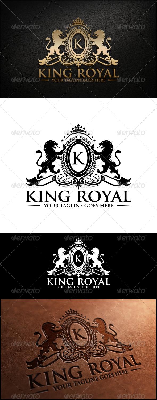GraphicRiver King Royal Logo Template 8022060