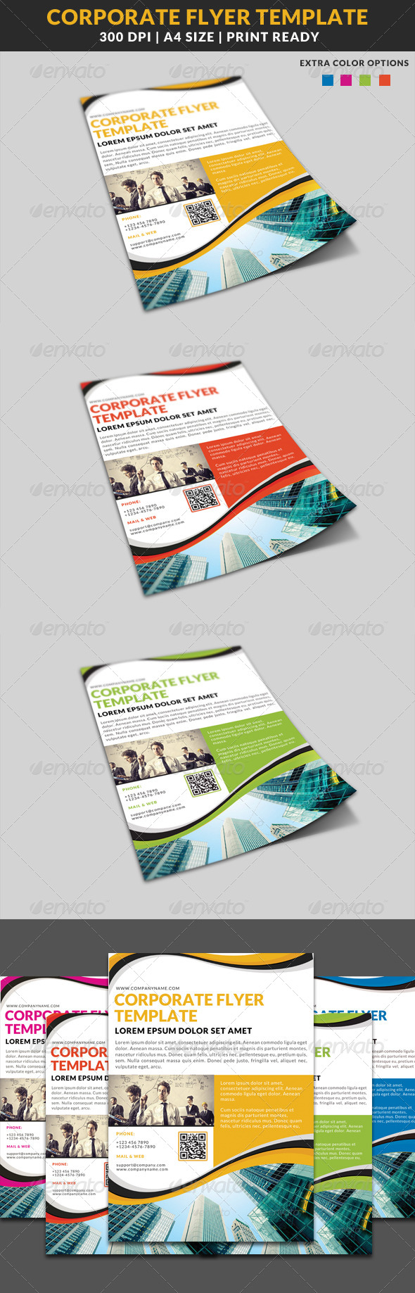 GraphicRiver Corporate Business Multipurpose Flyer Template 6 8022061