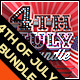 Fourth of July Celebration Event Promotion Package - GraphicRiver Item for Sale
