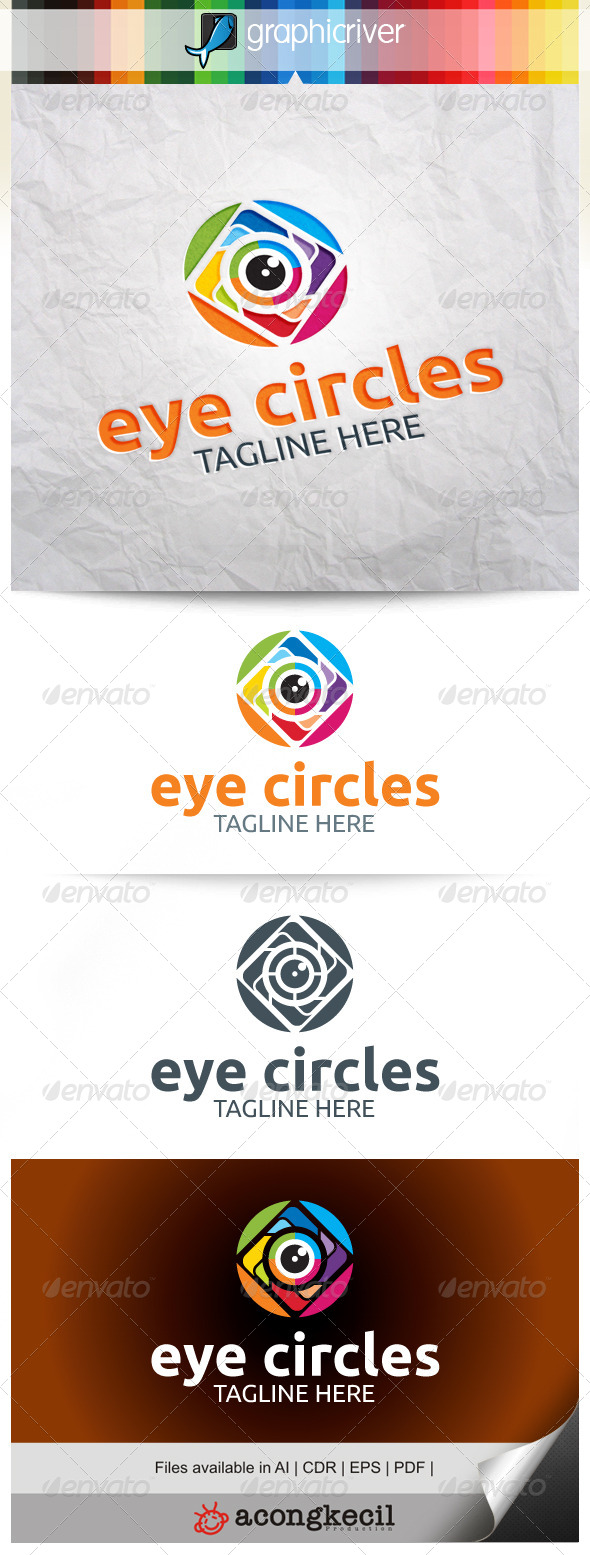 GraphicRiver Eye Circles V.1 8022225