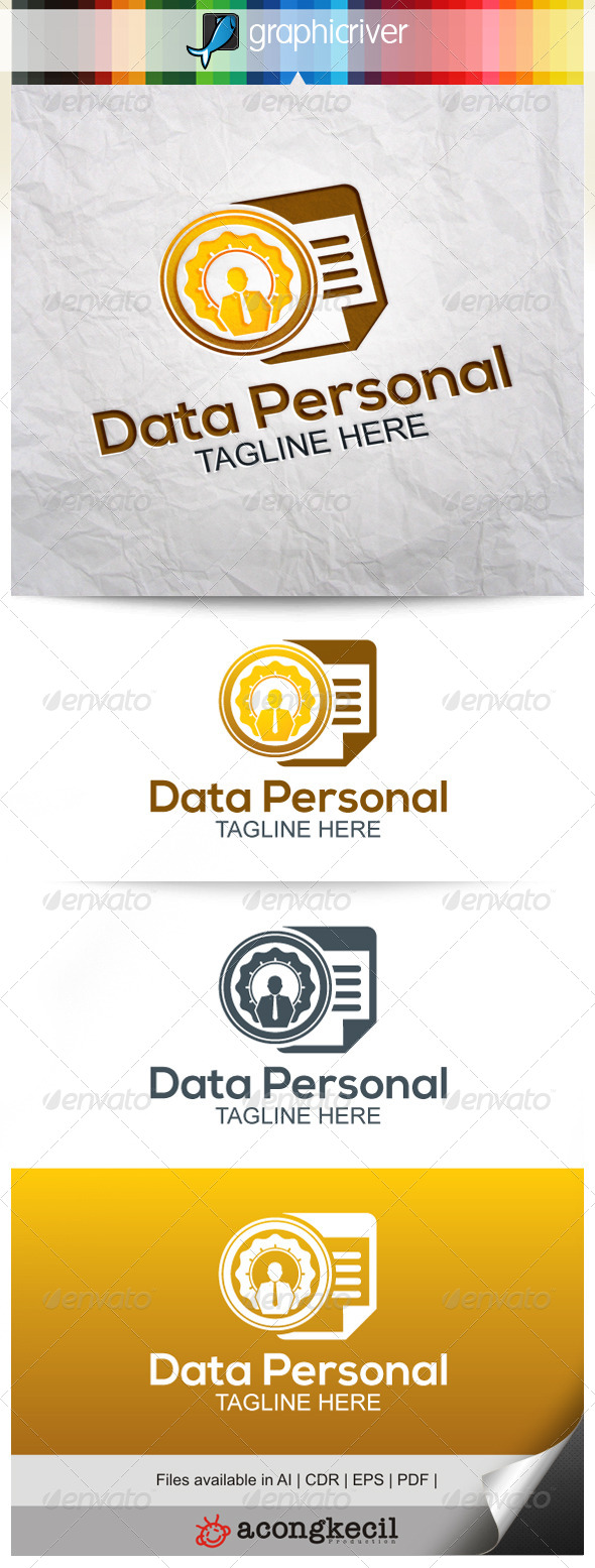 GraphicRiver Data Personal 8022294