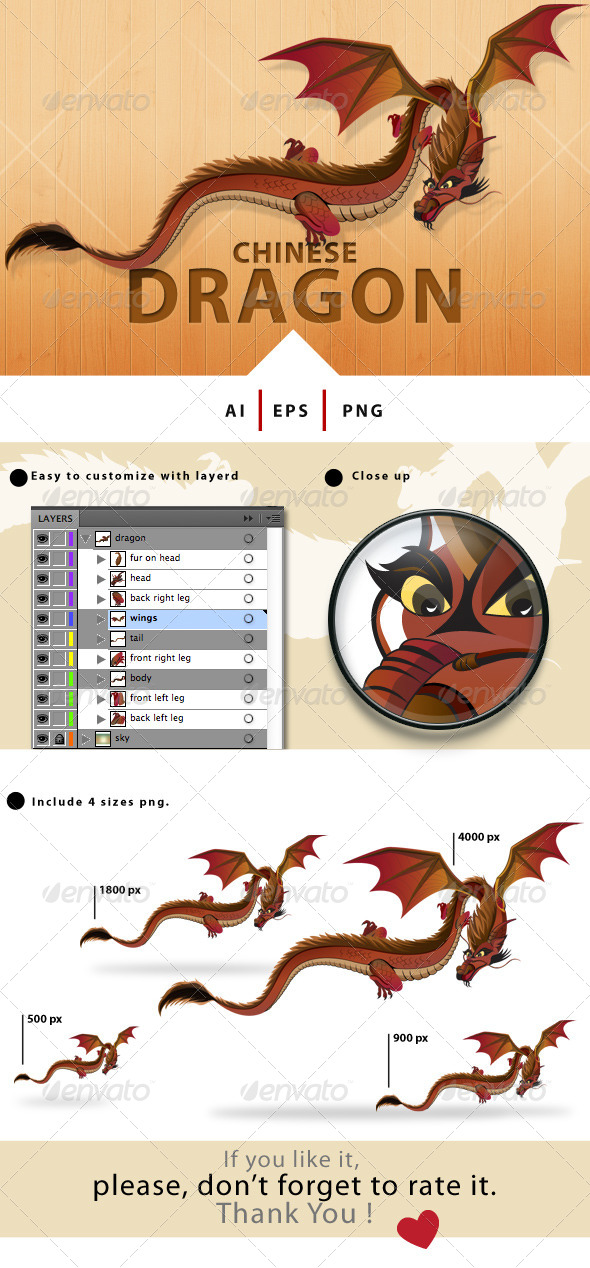 GraphicRiver Chinese Dragon 8002752