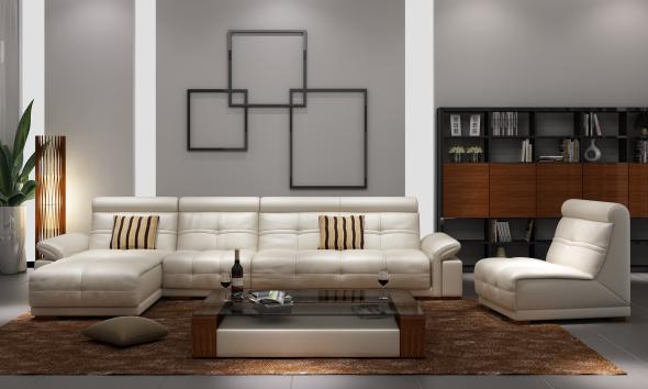 3DOcean Modern sofa 8022323