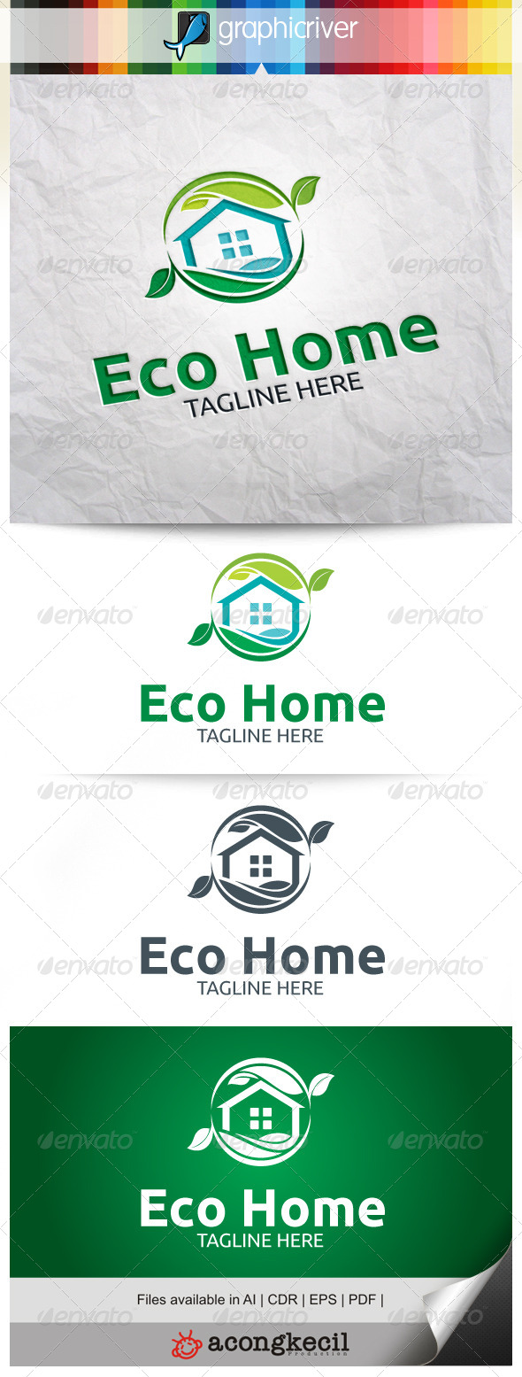 GraphicRiver Eco Home V.3 8022683