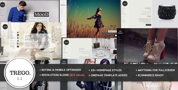 Trego - Multi Purpose Fullscreen Template - Retail Site Templates