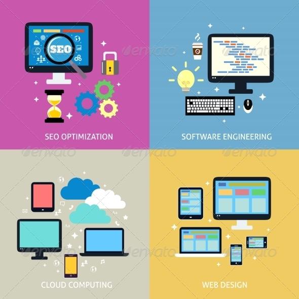 GraphicRiver Business Process Concept 8023047