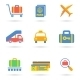 Airport Icons Flat - GraphicRiver Item for Sale