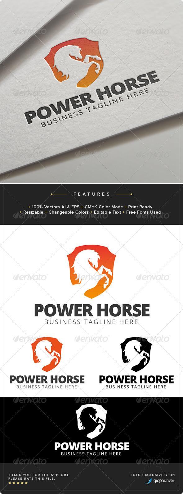 GraphicRiver Horse Power Logo Template 8023128
