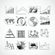 Sketch Diagrams Set - GraphicRiver Item for Sale
