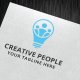 Creative People Logo Template  - GraphicRiver Item for Sale