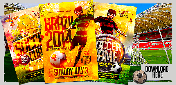 World Cup Flyer Templates