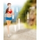Woman Running Technology - GraphicRiver Item for Sale