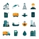 Oil Industry Flat Icons - GraphicRiver Item for Sale