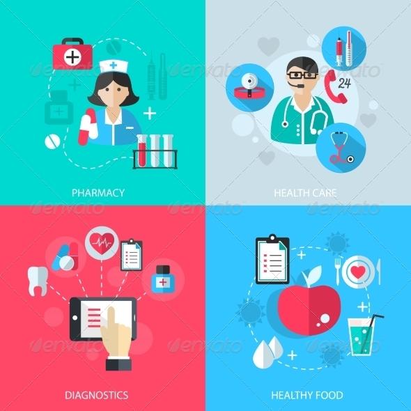 GraphicRiver Medicine Healthcare Services Concept 8023533