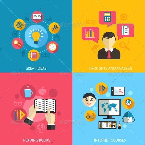 GraphicRiver Education Learning Concept 8023553