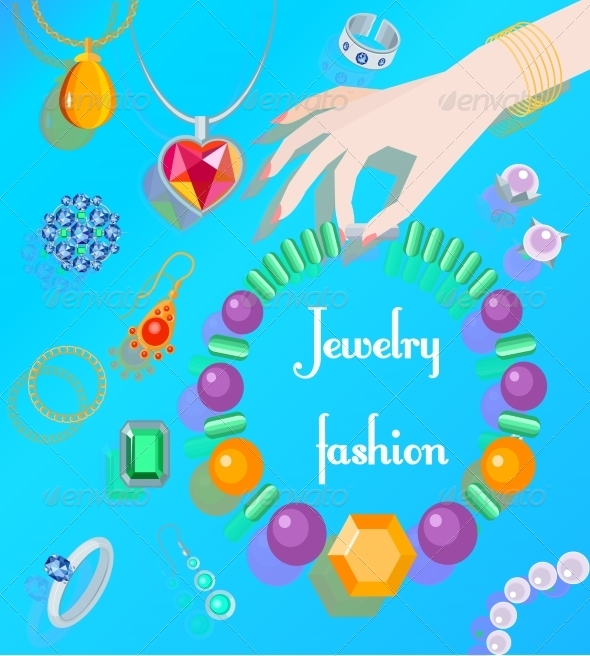 GraphicRiver Jewelry Fashion Poster 8023563
