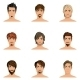 Man Hair Style Set - GraphicRiver Item for Sale