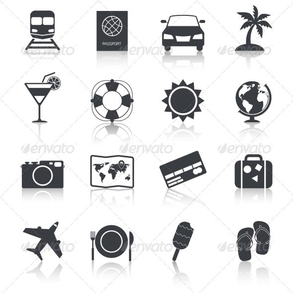 GraphicRiver Travel Icons Set 8023650