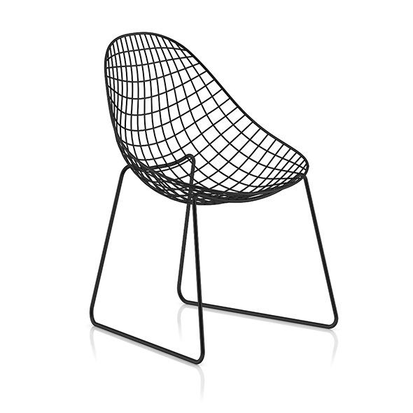 Metal Mesh Chair - 3DOcean Item for Sale