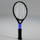 Low Poly tennis racket (UV-unwrapped) - 3DOcean Item for Sale