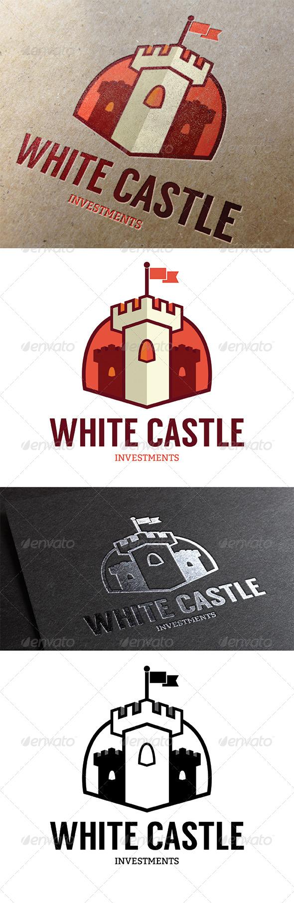 GraphicRiver Castle Logo 8024439