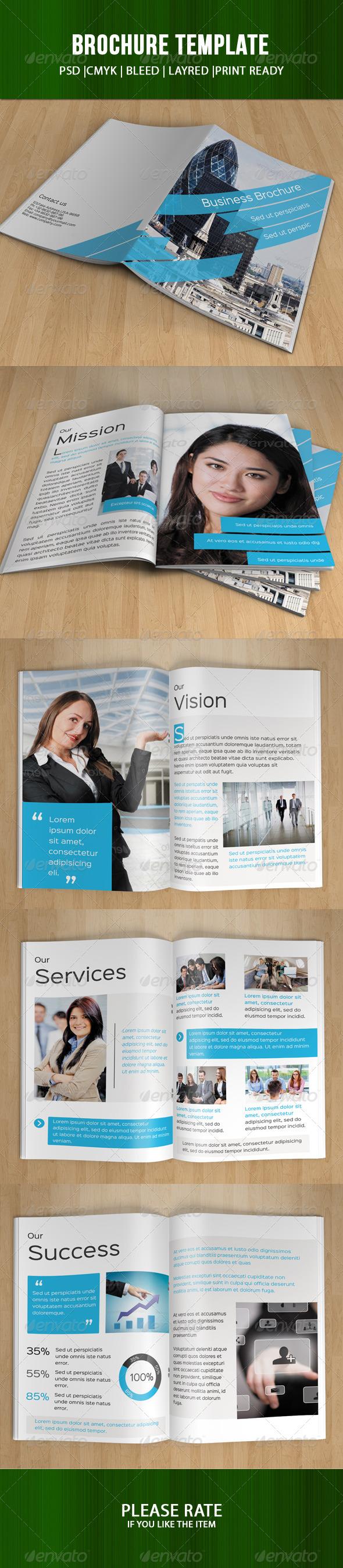 GraphicRiver Corporate Bifold Template-V63 8025085