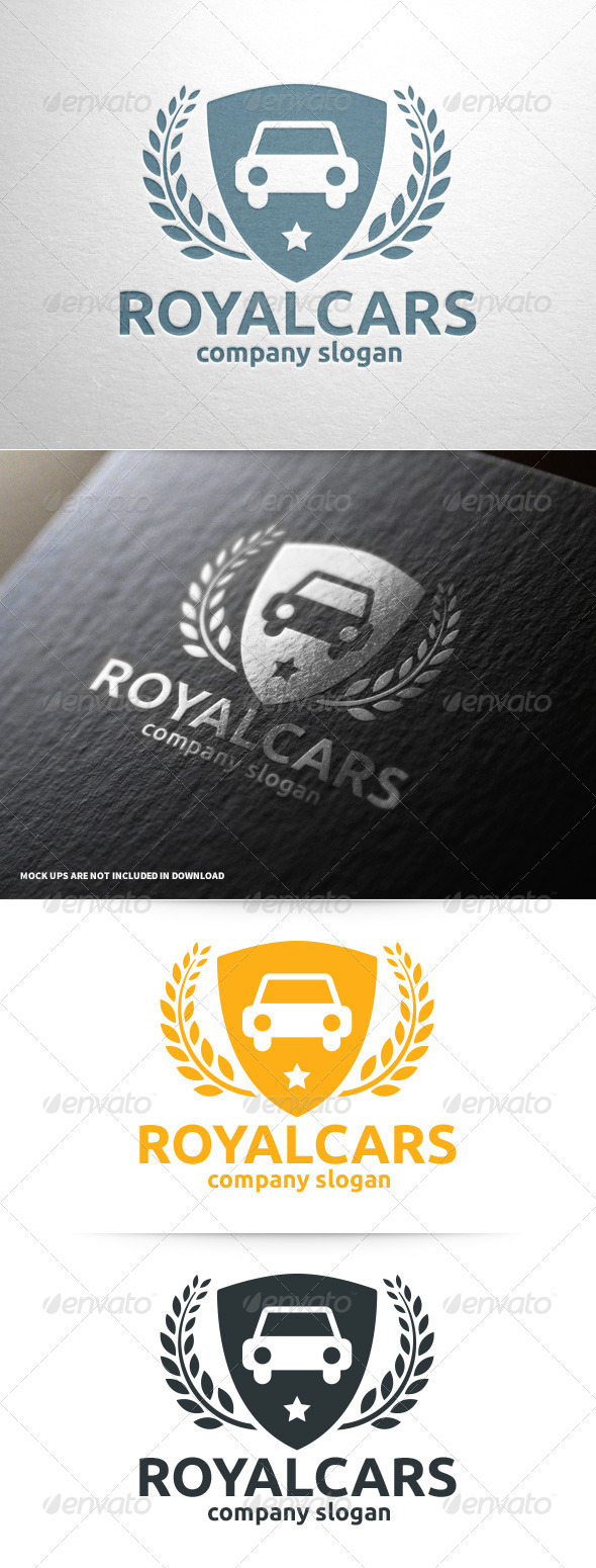 GraphicRiver Royal Cars Logo Template 8025171