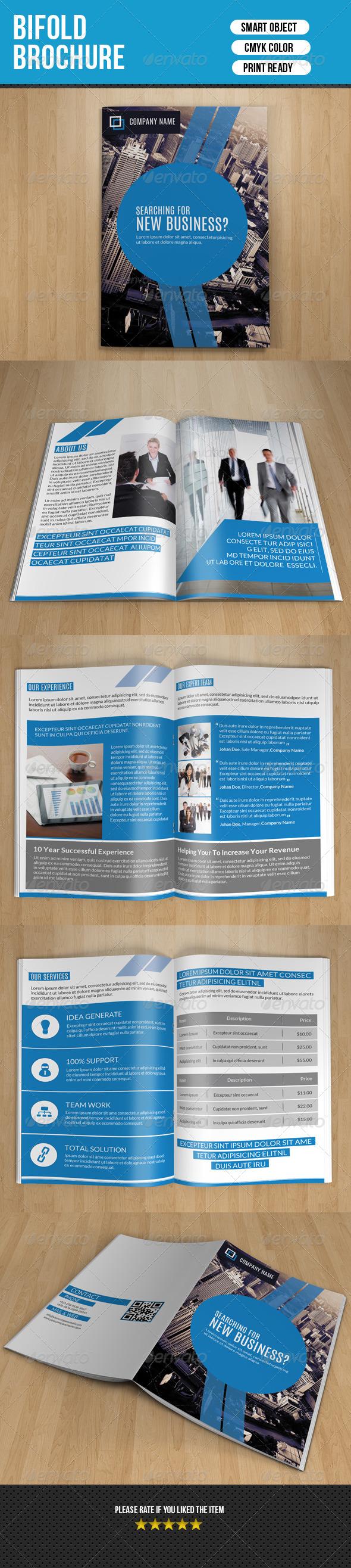 GraphicRiver Bifold Business Brochure-v64 8025185