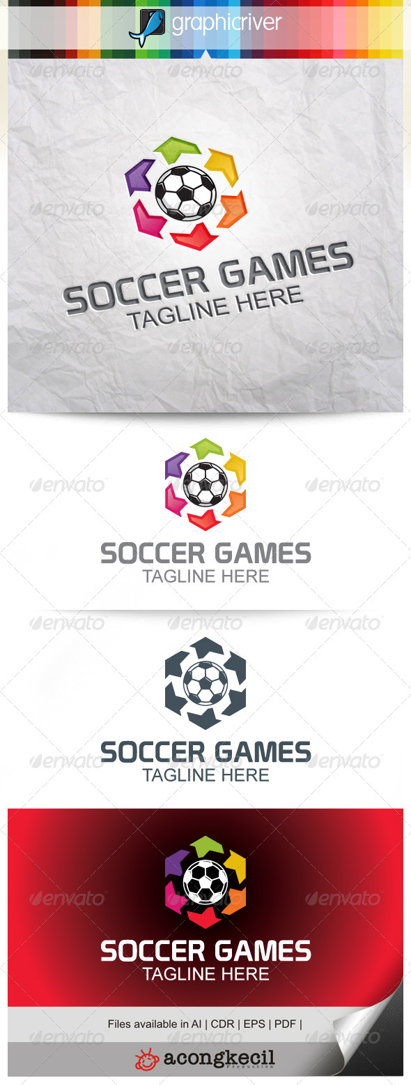 GraphicRiver Soccer Games V.2 8025230