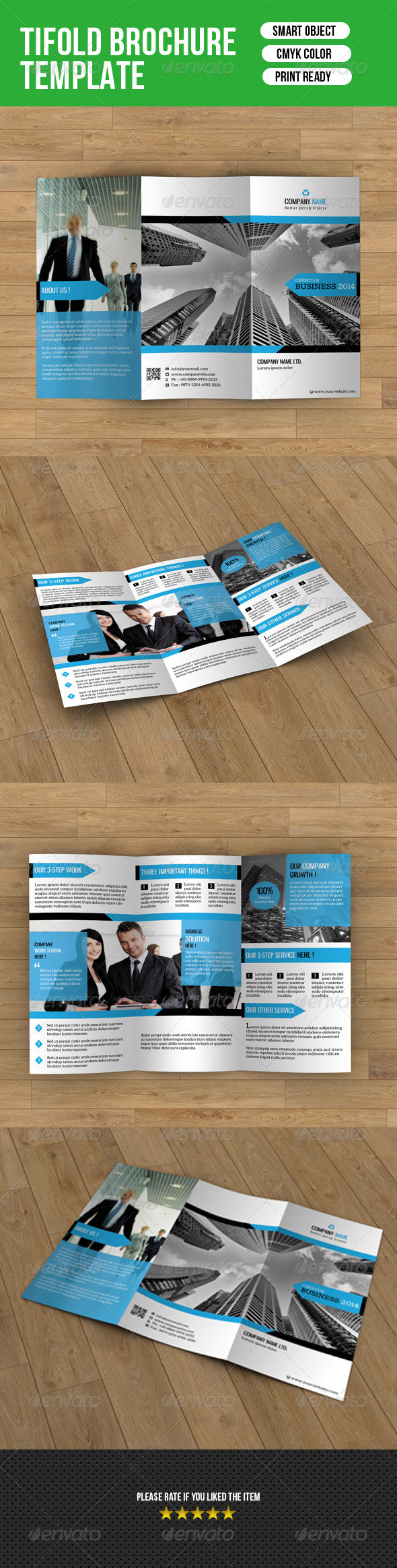 GraphicRiver Trifold Business Brochure-V14 8025248