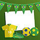 Brazil Soccer Decoration - GraphicRiver Item for Sale