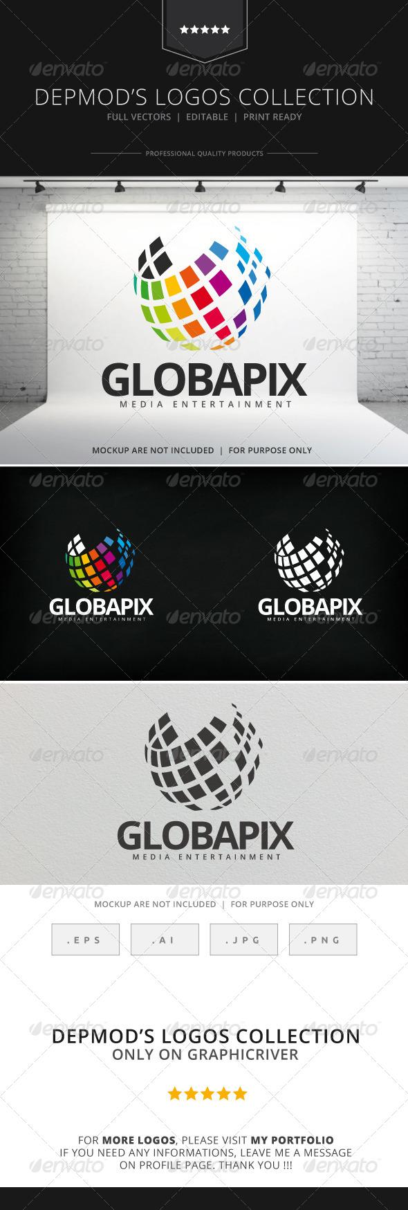 GraphicRiver Globapix Logo 8025519